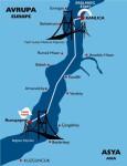 Bospor map